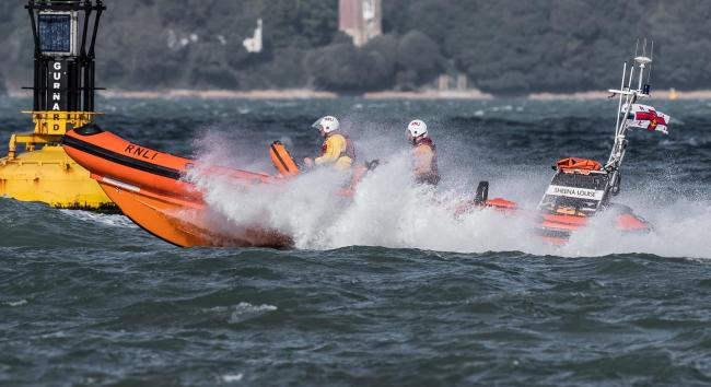 Cowes RNLI were called out at around 5pm. Picture: Nick Edwards