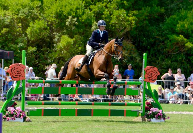 "Top Island eventer, Sarah Holmes, in action at last year's Osborne Horse Trials, said she was ""absolutely gutted"" this year's event was cancelled. FILE"