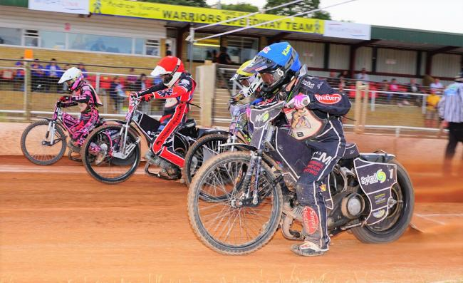 The Isle of Wight Wightlink Warriors speedway team suffered defeat at the Belle Vue Colts.  Photos: Ian Groves