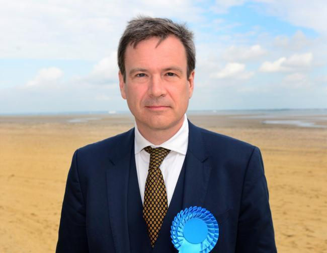 MP for the Isle of Wight Bob Seely