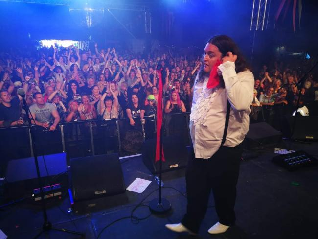 Jimi Smith — Meat Loaf tribute can be seen at The Food Shack and bar, Gurnard Pines on Saturday and The Railway Inn, Ryde, on Sunday.