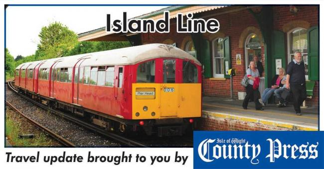 Island Line running reduced service due to faulty train — again.