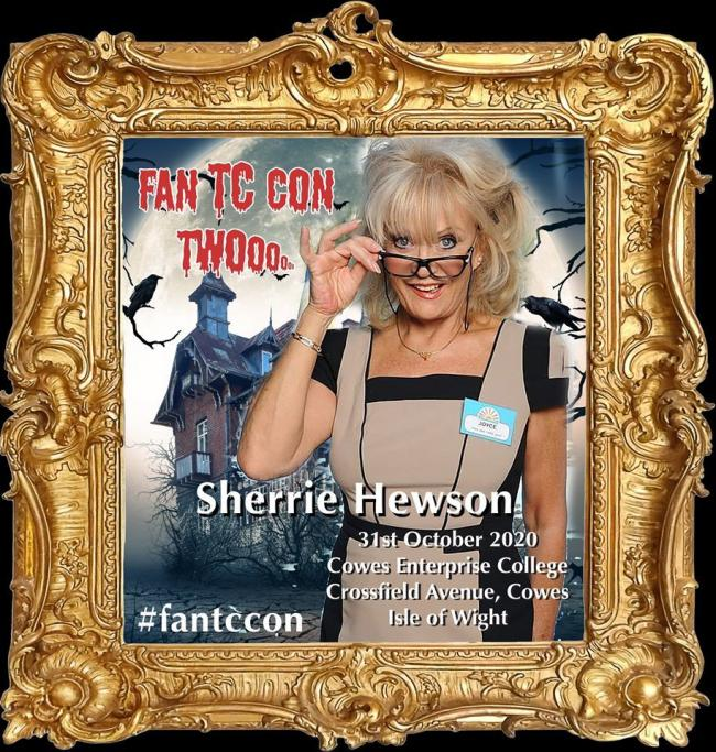 Sherrie Hewson, expected to feature at Fan TC Con 2020. Picture courtesy of Fan TC Con Facebook page.