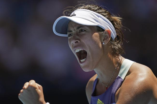 Garbine Muguruza defeated Anastasia Pavlyuchenkova to make the last four