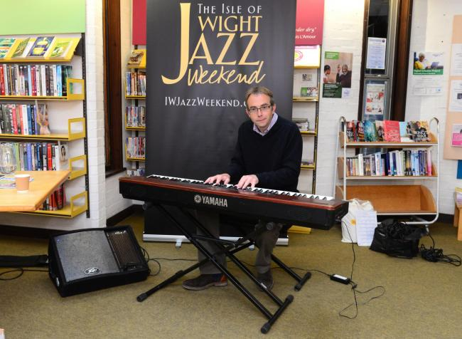 Newport - Newport Library - IW Jazz Weekend - Jim Thorn.