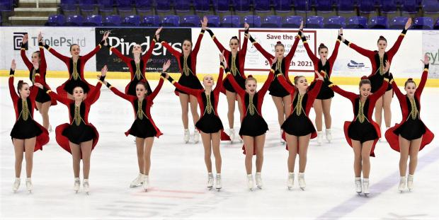 Isle of Wight County Press: The Wight Crystals performed well in a very tough category at the the 2020 Steel City Synchronised Skating Championships, held in Sheffield recently.