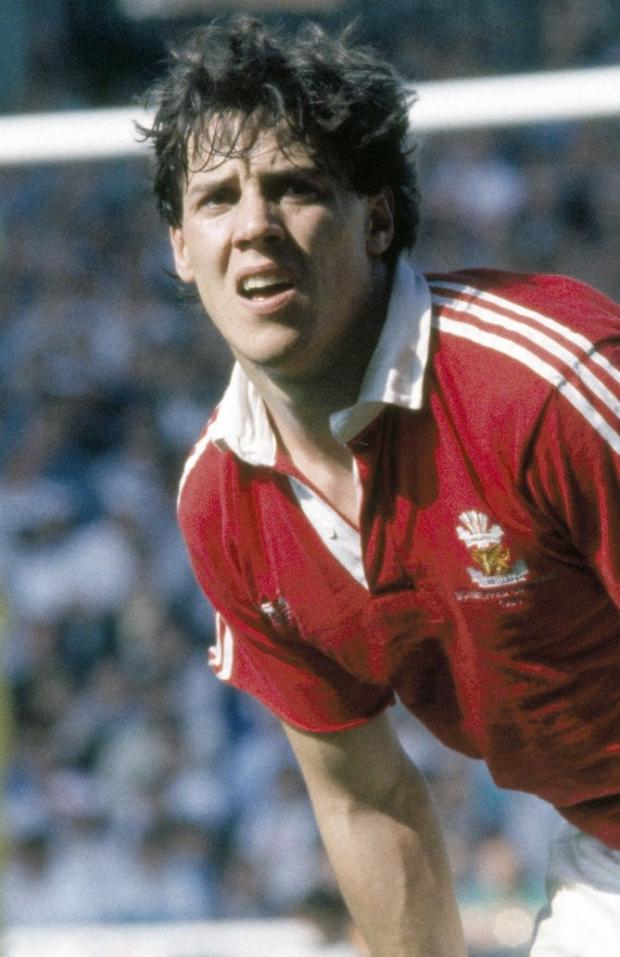 Isle of Wight County Press: Jonathan Griffiths of Llanelli during the Schweppes Challenge Cup Final between Llanelli and Neath at Cardiff Arms Park in 1989.