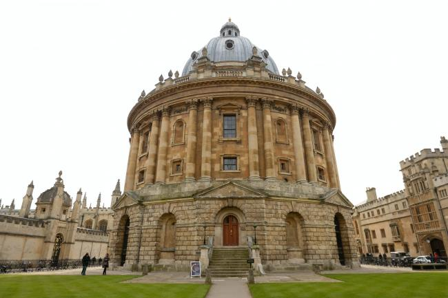 The Radcliffe Camera, part of Oxford University