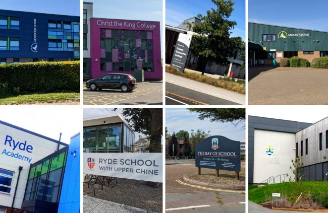 The Isle of Wight secondary schools' open days are mainly virtual this year