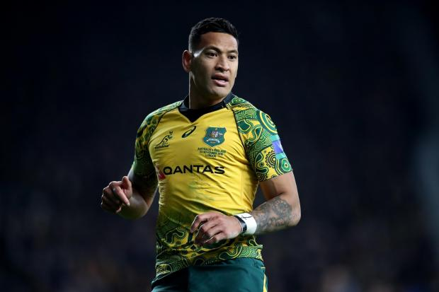 Israel Folau has signed for Catalans Dragons in Super League