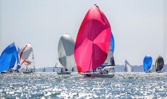 Cowes Week has a new team trophy this year, designed to encourage more international team entries.  Photos: Paul Wyeth